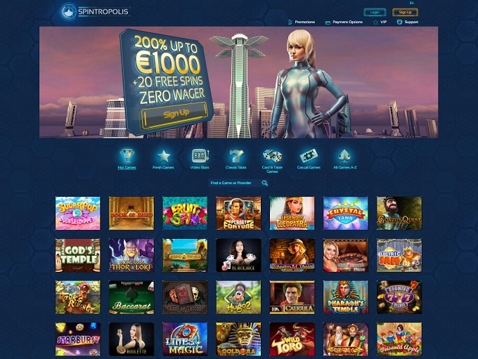 Betsoft Gaming support Spintropolis2