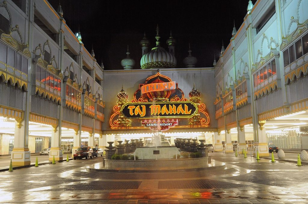 Hard Rock Atlantic City Casino Trump Taj Mahal