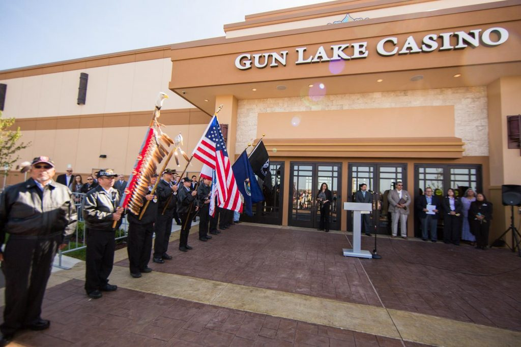 Gun Lake Casino.